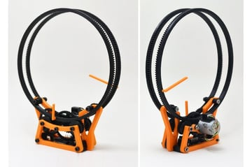 Image of Best Arduino Stepper Motors: 3D Printed Holo Clock