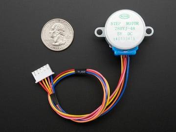 Image of Best Arduino Stepper Motors: Adafruit Small Reduction Stepper Motor