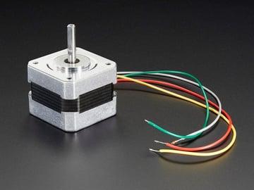 Image of Best Arduino Stepper Motors: Nema 17 Bipolar Stepper Motor