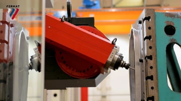 A continuous 5-axis CNC machine doing what it does best.