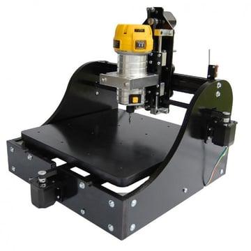 A consumer-grade 3-axis CNC machine.