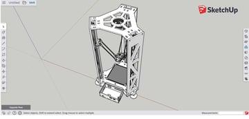 Imagem de Programas para impressoras 3D: os melhores programas CAD: SketchUp