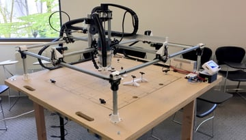 A mostly 3D printed CNC machine.
