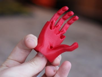 Image of Easy & Fun Things to 3D Print in an Hour (or Less): Miniature Robotic Hand for NinjaFlex by Open Bionics