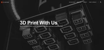 Imagen de Servicio de impresión 3D online: ZVerse