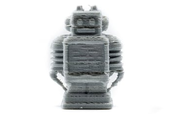This Ultimaker bot was under extruded