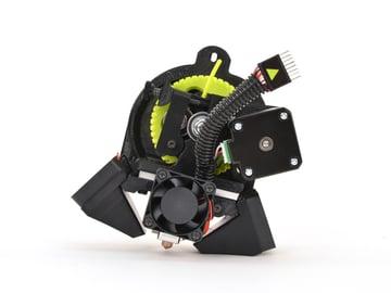 Luzbot Taz's single extruder toolhead.