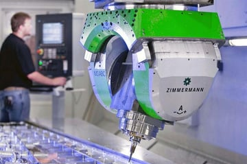 A Zimmerman FZ100 portal machining centre.