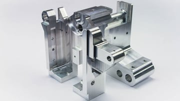 A complex part for which 6-axis milling would have an advantage.