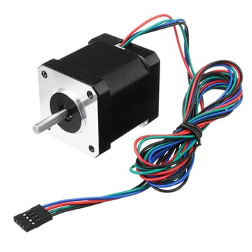 This motor must be controlled with the correct steps/mm to work properly.