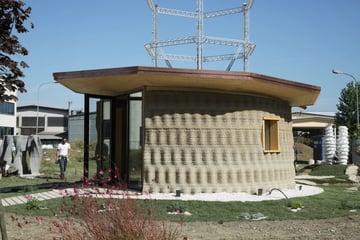 Image de Bâtiment / Structure / Maison imprimée en 3D: Gaia, la maison imprimée en 3D avec de la terre