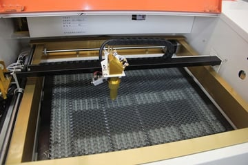 The Ten-High 40W laser engraver.