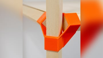 Image de Objets 3D utiles à imprimer en 3D: Jonction-P