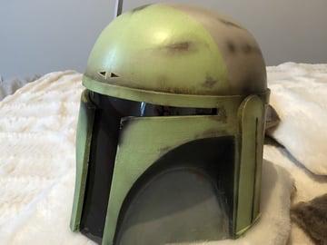 Image of Star Wars 3D Models to 3D Print: Mandalorian Helmet