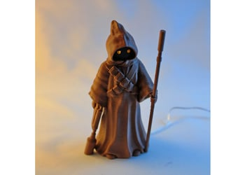 Image of Star Wars 3D Models to 3D Print: Glowing Jawa