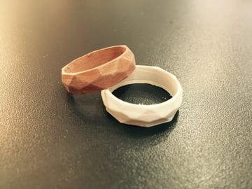 This low-poly ring is low-key lovely.