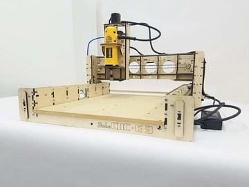 The BobsCNC E3 CNC machine.