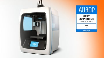 Image of Robo C2: Bester 3D-Drucker für Schulen