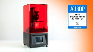 Image of Elegoo Mars: Best Budget Resin 3D Printer