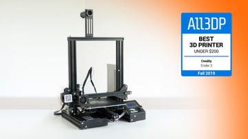 Image of Creality Ender 3: Best 3D Printer Under $200