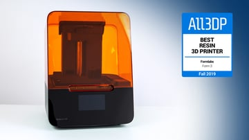 Image of Formlabs Form 3: Best Resin 3D Printer