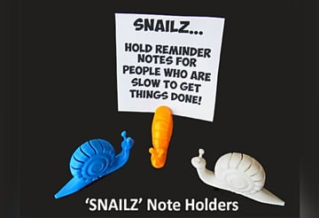 Image of Cool Things to 3D Print: Snailz