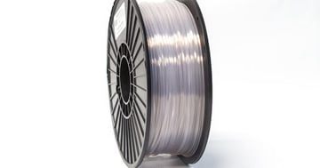 MatterHackers makes a great spool of clear/transparent PLA.