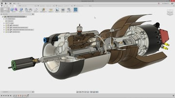 Fusion 360 is popular CAD software that supports DXF and STL.