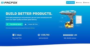 Imagen de Servicio de impresión 3D online: FacFox