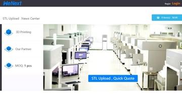 Imagen de Servicio de impresión 3D online: WeNext