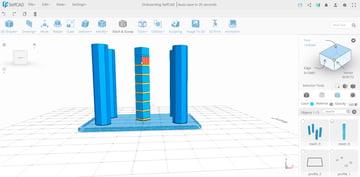 Imagem de Softwares CAD on-line gratuitos: SelfCAD