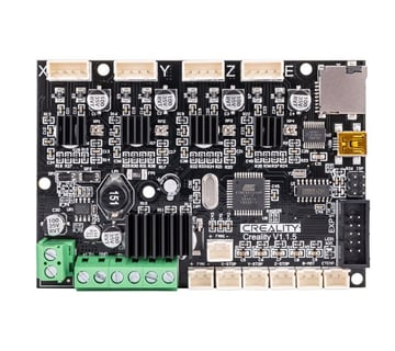 Creality's newest silent control board for their Ender series of printers, version 1.1.5