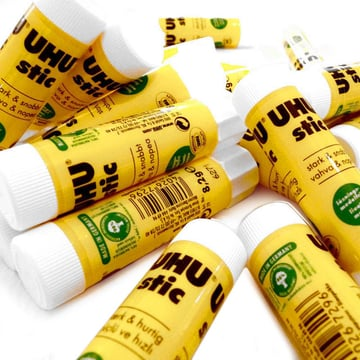 UHU Stic is soft and easy to apply.