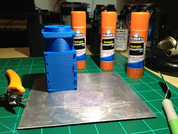 Always have backup sticks, because they can be key to a successful print.