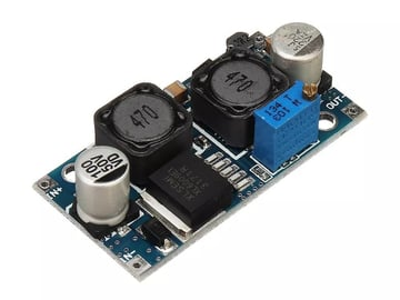 The buck converter recommended by Teaching Tech (YouTube).