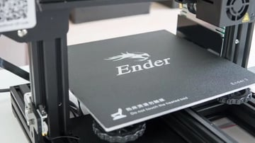Be wary of the Ender 3's print bed.