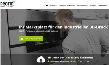 Image of Online-3D-Druck-Service-Dienstleister: PROTIQ