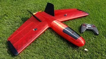 An unusual 3D printed plane.