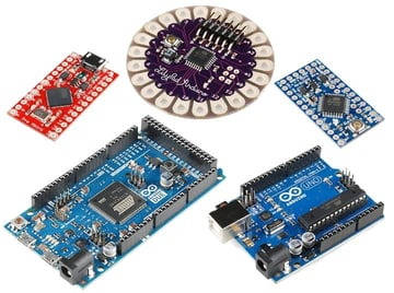 Arduino's various boards.
