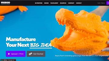 Voodoo Manufacturing's stunning website.