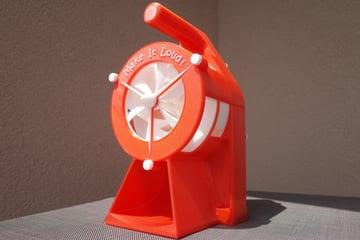 Imagem de Coisas para imprimir em 3D: Sirene de ataque aéreo - manivela versão 2