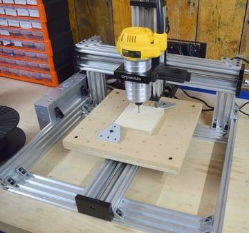 A C-beam machine build.