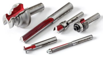 Titman offers a wide variety of router cutters.