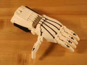 This is an advanced, open-source, wrist-powered prosthesis created by volunteers!
