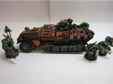 This Grot Hanomag from Warhammer 40k makes a great addition to your army.