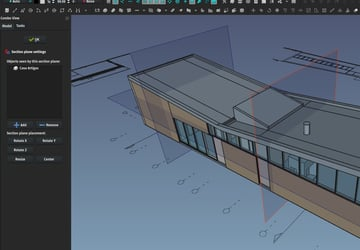 Modeling a building in FreeCAD.
