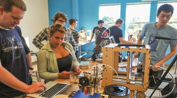 A hackathon for the 3D printing community.
