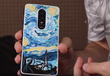 This phone case combines function and form.