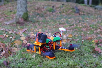 3D printing meets quadcopters.