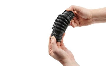 Flexible filaments are used for 3D printed objects that need to be flexible but bounce back into their original shape.